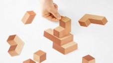 Paper-Brick jsou výstřižky z papíru s 3D efektem kostek