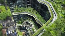 Parkroyal v Singapuru je hotel jako vytržený ze země