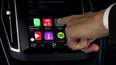 Volvo se chlubí integrovaným Apple CarPlay