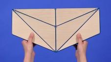 Facet je kolekce skládacích tašek ve stylu origami