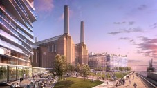 Slavná elektrárna Battersea Power Station se přestavuje