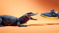 Krokodýl se v reklamě popral s teniskami Lacoste