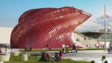 Libeskind navrhl pavilon Vanke na Expo 2015 jako čínskou jídelnu
