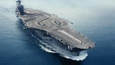 BMW M4 mělo závodní dráhu na letadlové lodi