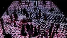 Chevalier vytvořil interaktivní světelný koberec s orientálními vzory