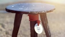 Sea Chair je židle tvořená pouze odpadem z oceánu