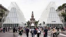 Miláno v centru dokončilo návštěvnický pavilon Expo Gate