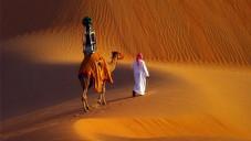 Google nasnímal arabskou poušť Liwa ze hřbetu dromedára