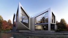Rotační dům D*Haus se přizpůsobí počasí i ročním obdobím