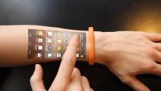 Náramek Cicret Bracelet promítá dotykový obraz z telefonu na ruku