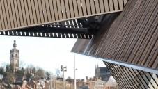 Daniel Libeskind postavil dřevěné Mons Congress Centre