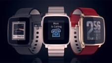 Pebble Time Steel mají propracovaný design a časovou osu