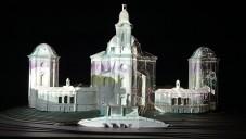 Češi udělali 360stupňový videomapping na Santiniho kostel
