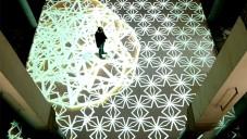 Miguel Chevalier vytvořil interaktivní digitální arabesku