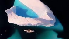 Švéd natočil krásy Antarktidy dronem ze vzduchu