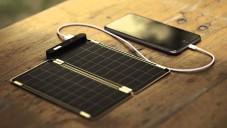 Solar Paper je tenká solární nabíječka nejen pro mobily