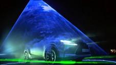 Will.I.Am vytvořil pro Lexus laserovou hudební instalaci
