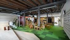 Etneteria jsou nové kanceláře v budově parních mlýnů