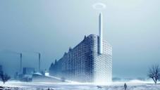 Kodaň staví eko elektrárnu s komínem na parní prstence