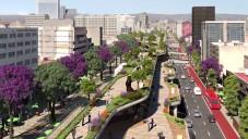 FR-EE navrhli promenádu nad tepnou hlavního města Mexika