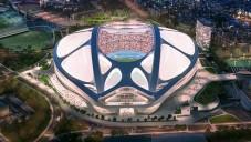 Zaha Hadid detailně ukazuje upravenou verzi stadionu pro Tokio