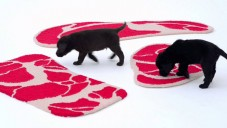 Ma Yansong navrhl masitý koberec pro labradory