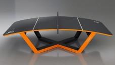 Teqball je speciální stůl pro nový sport vycházející z fotbalu