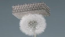 Boeing představil nejlehčí materiál na světě Microlattice