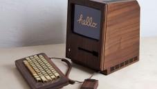 The Golden Apple je funkční replika Apple Macintosh ze dřeva