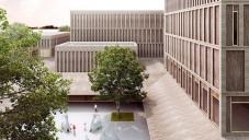 Mecanoo navrhlo pro čínský Shenzhen dřevěné muzeum umění