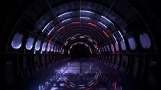 Playmodes vytvořili ve starém letadle světelnou hvězdnou bránu