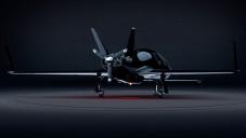 Cobalt Valkyrie je vrtulový letoun s designem stíhačky