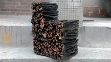 Yoonki Lee vyrobil Raw Chair jen ze spojených větví stromu