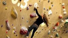 Brooklyn zažil první využití rozšíření reality na lezecké stěně