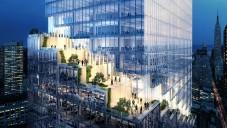BIG navrhli newyorský mrakodrap Spiral se spirálou teras