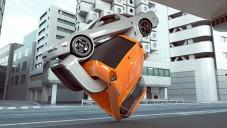 Chris LaBrooy vytvořil 3D animaci aut cvičící aerobik