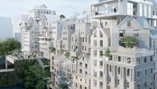 V Paříži by mohl stát bytový komplex složený z malých domků