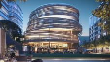 Kengo Kuma navrhl pro Sydney kulaté společenské centrum
