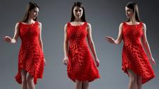 Nervous System navrhli nositelné 3D tištěné šaty z tisíců lístků