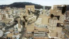 Aujik vytvořil vizualizaci města převráceného naruby