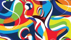 Matt W. Moore ručně namaloval motivy olympijských her v Riu