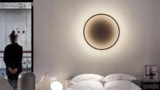 Eclipse je efektní kruhové svítidlo s magickým černým okem