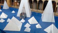 Muzeum ve Washingtonu se chlubí instalací s obřími ledovci