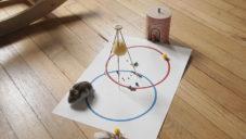 Vibrato je hra pro děti s vibracemi a malými objekty