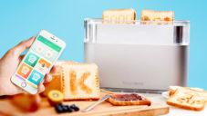 Toasteroid umí malovat do chleba vaše vzkazy nebo obrázky