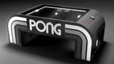 Hrací stůl od Table Pong Project vzdává poctu staré hře od Atari