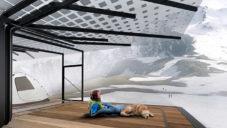 Designér navrhl na Island přístřešky pro turisty inspirované stromem