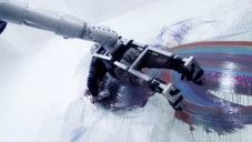 Dragan Ilic maluje obrazy připevněný k robotu RoboAction A1 D1