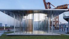 Schmidt Hammer Lassen postavili prosklený The Cloud Pavilion