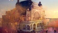 Sony v reklamě na televizi obarvilo staré kasino v Rumunsku